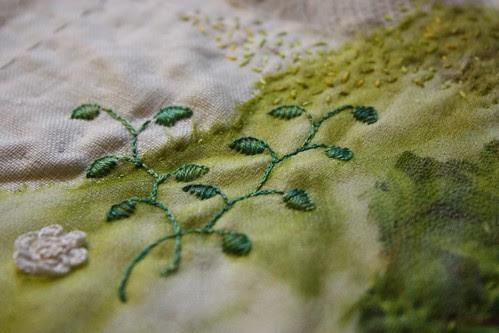 Green Stitching