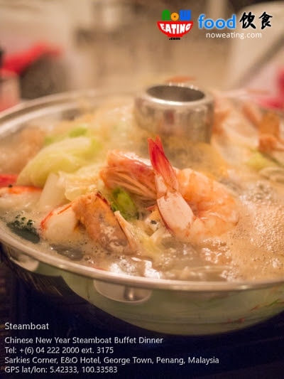Chinese New Year Steamboat Buffet Dinner @ E&O Hotel | Now Eating