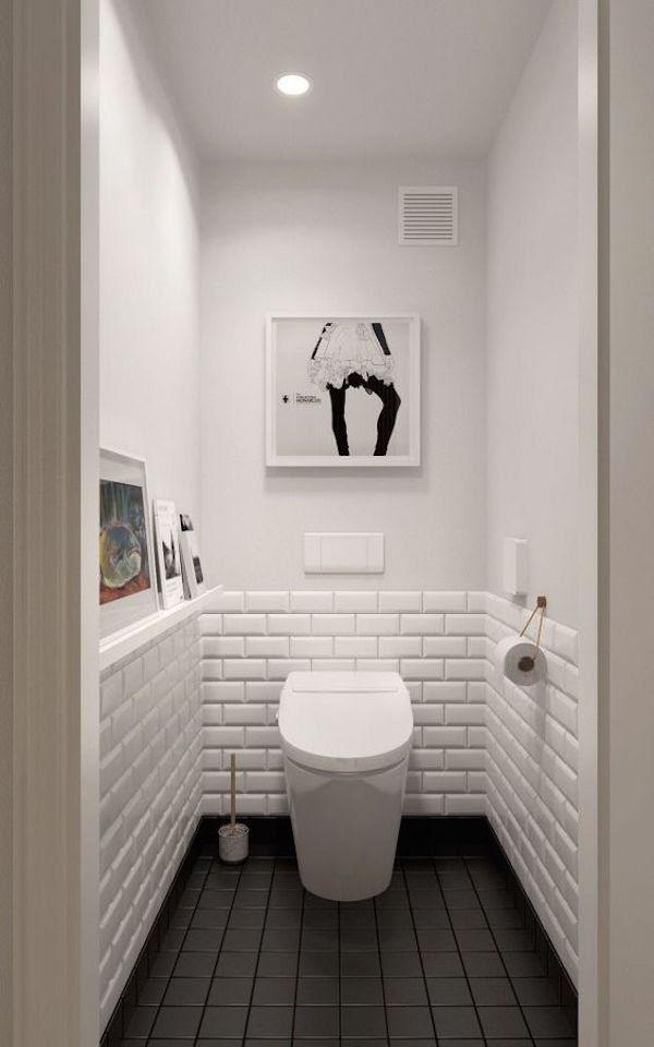34 Classic Black And White Bathroom Design Ideas ...