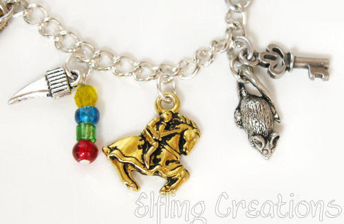 Writing Charm Bracelet 4