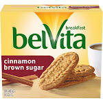 belVita Cinnamon Brown Sugar Breakfast Biscuits - 5ct