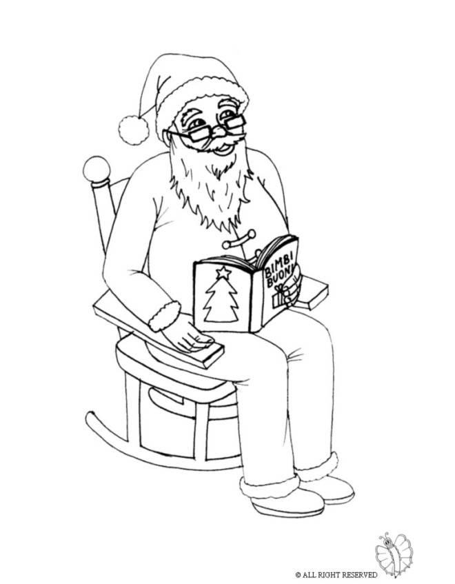 Disegni Per Bambini Babbo Natale