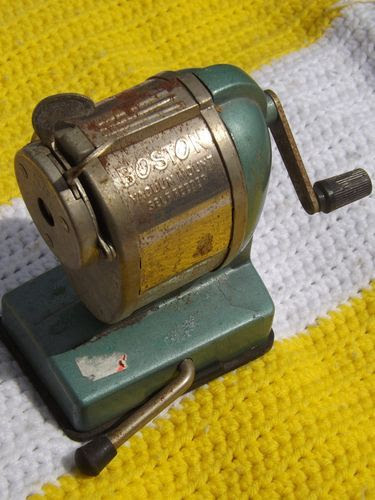 Crank Pencil Sharpener