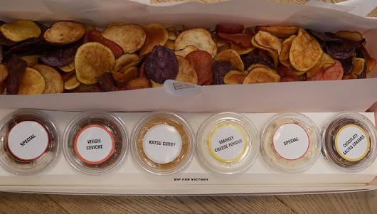 Fresh Crisps and Tasty Dips at HipChips, Old Compton Street