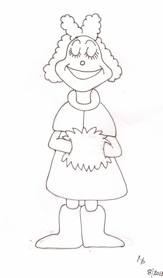 Grinch Full Body Coloring Pages - Coloring Home