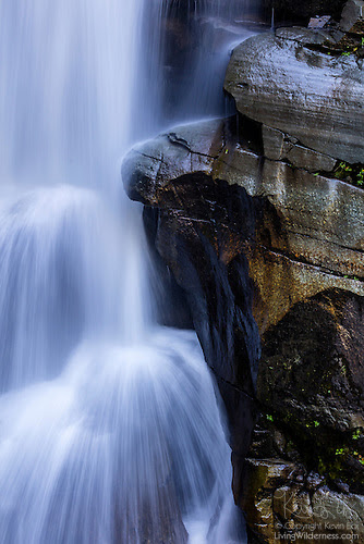Detail, Nooksack Falls, North Cascades, Washington