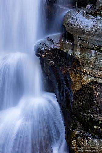 Detail, Nooksack Falls, North Cascades, Washington