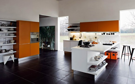 Contemporary Kitchen Design - Home Designing