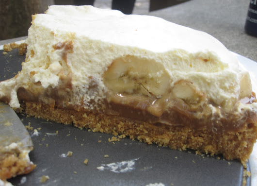Banoffee Pie--A British Treat