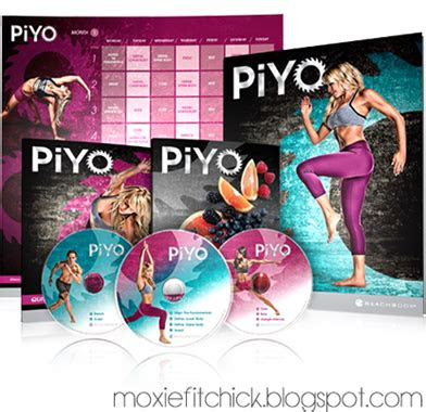 moxie fit chick  day fix  piyo whats  difference