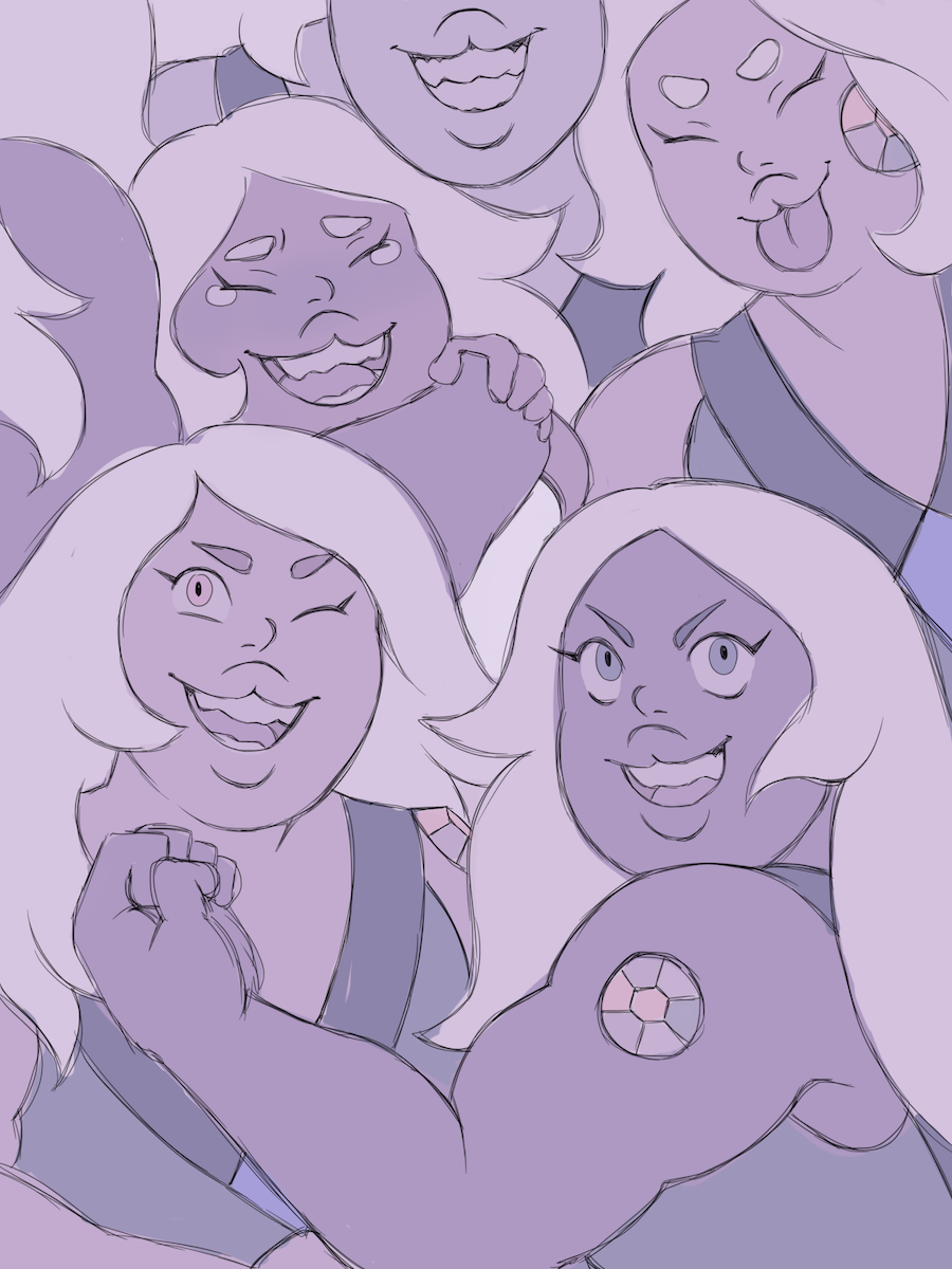 so, did u guys see those amethysts………..