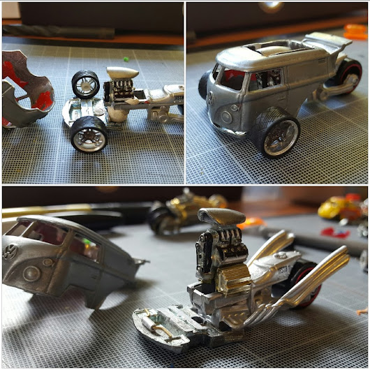 From Kool Kombi Custom to My Custom Hotwheels Logo