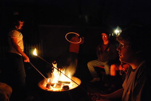 Fire Pit kids
