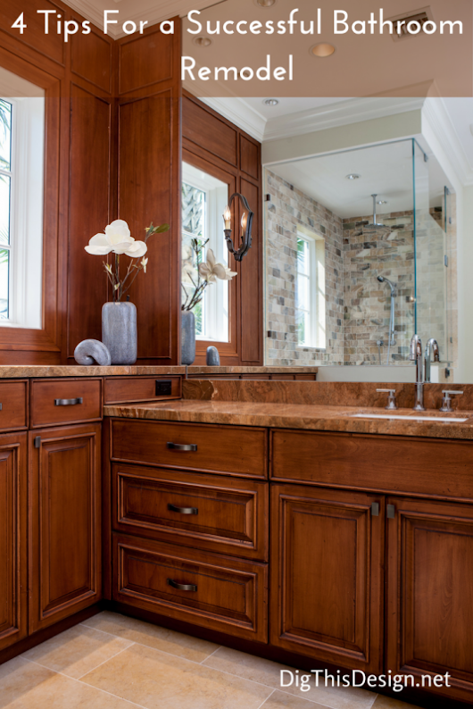 Bathroom Remodels Top 4 Must-Do's for Success - Dig This Design