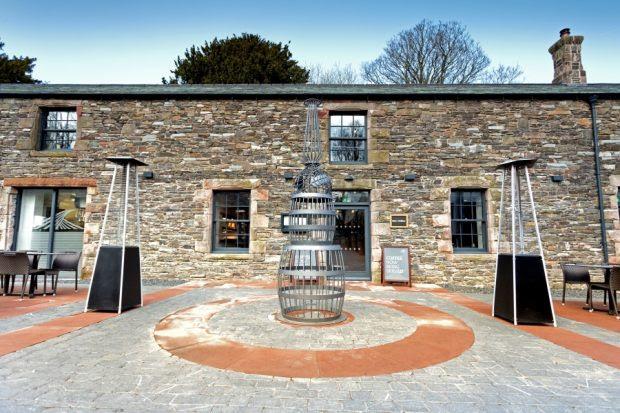 Bistro at the Distillary, Keswick, England