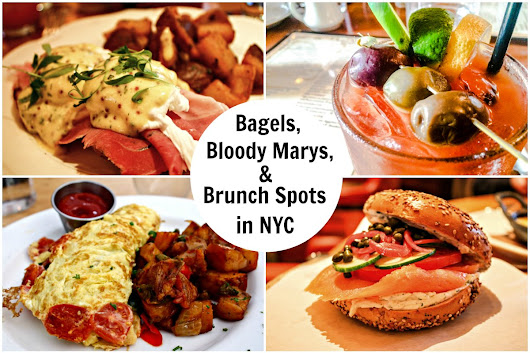 Bagels, Bloody Marys And Brunch Spots In New York City