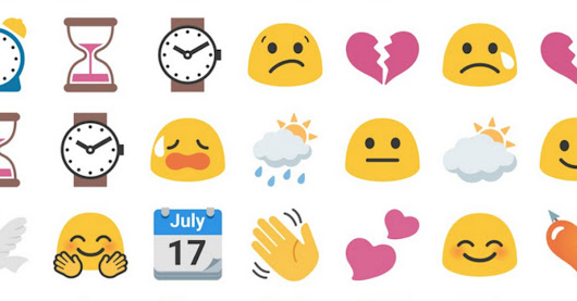 Google revives its blob emoji as sticker packs on Gboard and Android Messages
