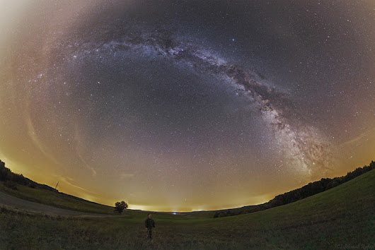 Fulldome panorama cut from Zselic - Rafael Schmall - Vega Astronomical Association