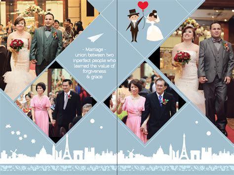 Commission Wedding Photo Album Design   Gracona