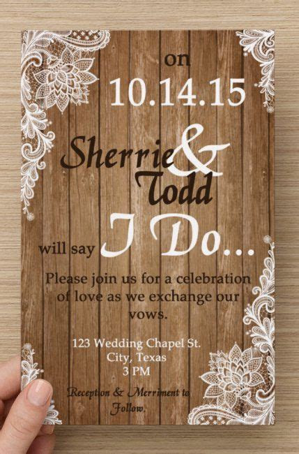 Shabby chic weddings, Invitations and Wedding invitations