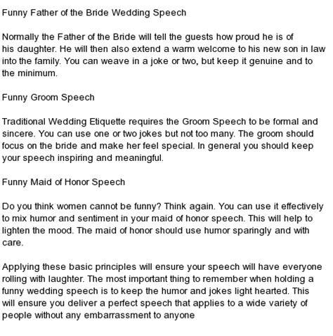kind   wedding speeches wedding reception