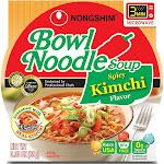 Nongshim Bowl Noodle Soup, Spicy Kimchi, 3.03 Ounce