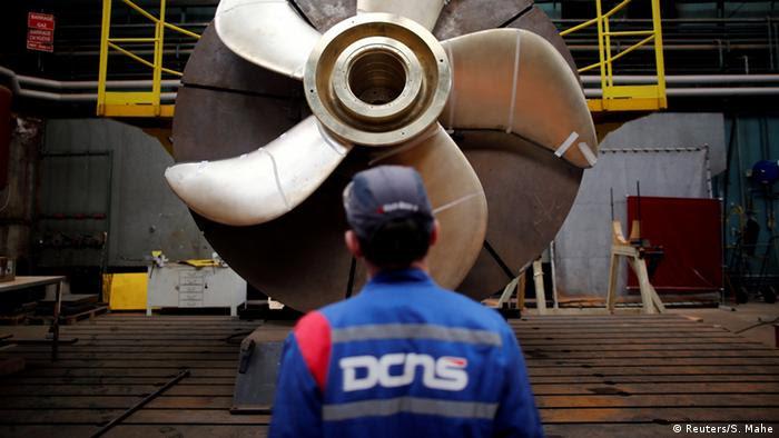 Frankreich Schiffbaukonzern DCNS (Reuters/S. Mahe)