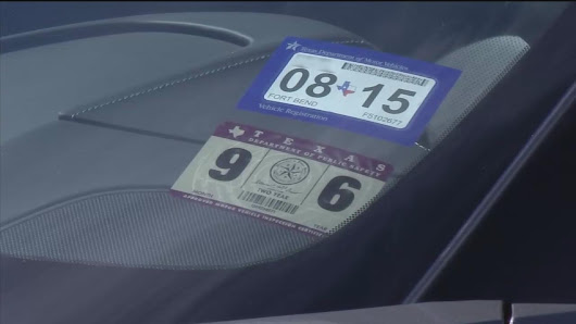 How new Texas car registration, sticker system works |