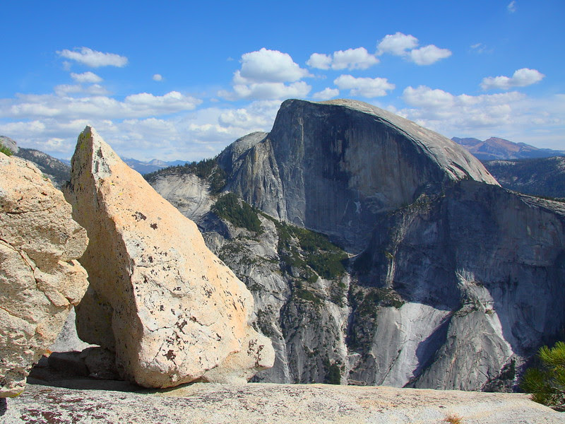 IMG_0564 Half Dome from North Dome Trail, Yosemite National Park