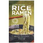 Lotus Foods Rice Ramen, Jade Pearl with Miso Soup - 2.8 oz bag