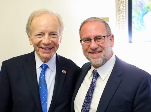 Why Joe Lieberman and I think the world of Shavuot