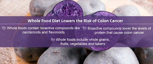 Whole Foods Lower Risk of Colon Cancer