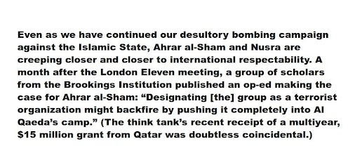 #BROOKINGS #QATAR #TERRORISM