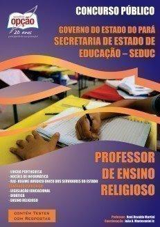 Apostila SEDUC PA Professor Ensino Religioso