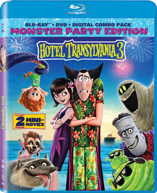 Hotel Transylvania 3 Coming to a Home Near You! - Peyton's Momma™