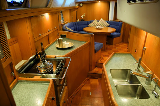 What is cooking in Britican's Galley? - Sailing Britican
