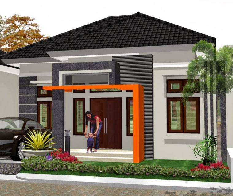Rumah Minimalis Type 36 1 Lantai sederhana Desain Rumah