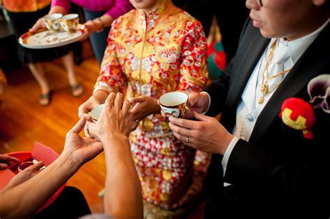 Traditional Chinese wedding at Empire Garden in Boston