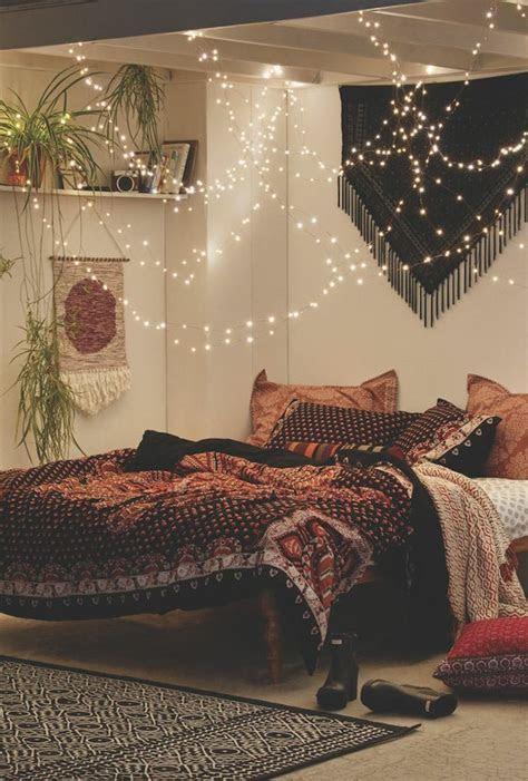 lichterketten deko ideen schlafzimmer amudame