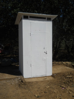 Painted Outhouse