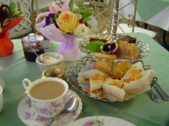 Afternoon Tea @ Tea Rose Garden
