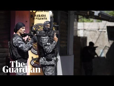 At least 25 killed in Rio de Janeiro's deadliest favela raid