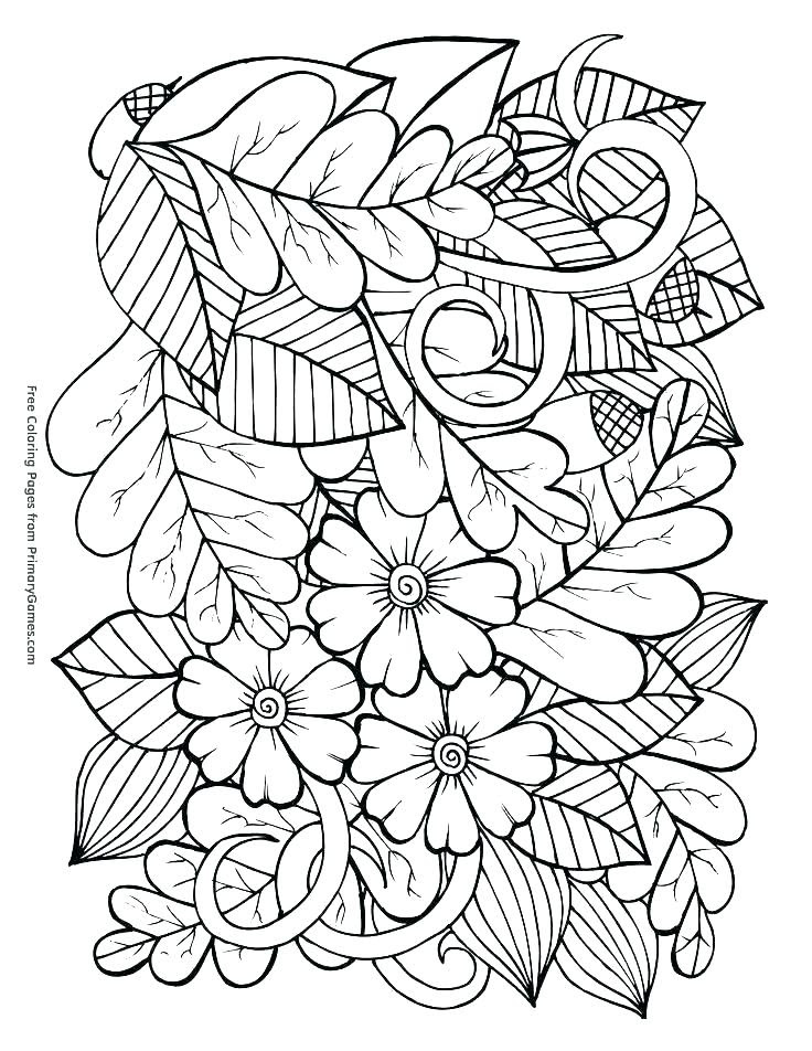 Autumn Adult Coloring Pages at GetColorings.com | Free ...