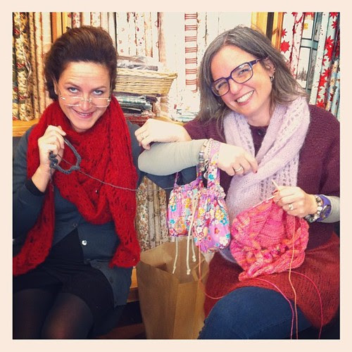 Knitting friends :)