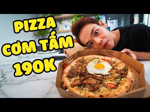 Lần đầu ăn thử Pizza Cơm Tấm 190k (Oops Banana)