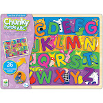The Learning Journey My First Chunky Lift & Learn ABC Puzzle