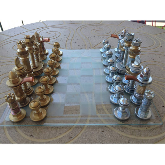 World Chess Hall of Fame Chess Set features Yardley Inserts