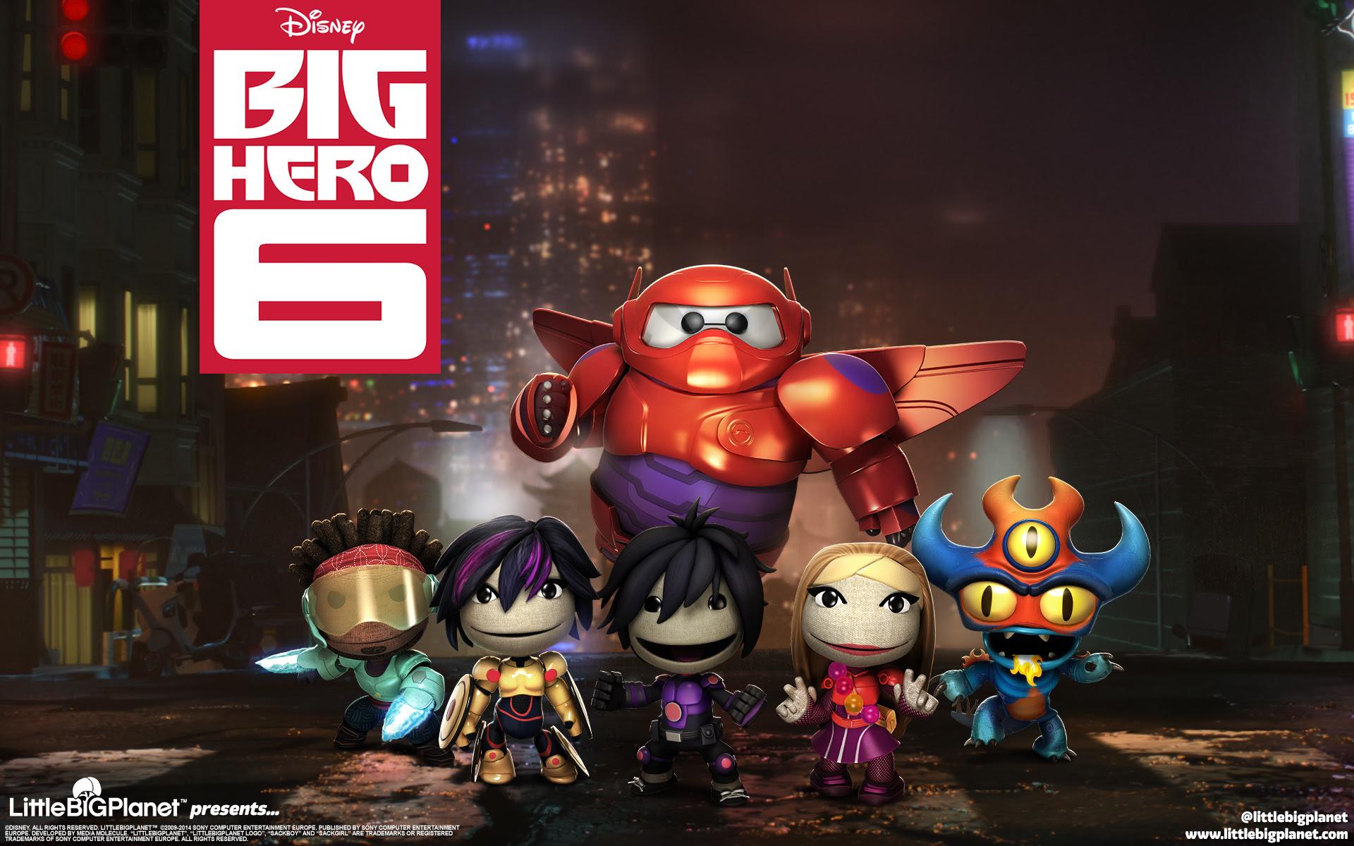 Littlebigplanet Big Hero 6