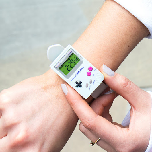 Nintendo Game Boy Watch » COOL SH*T i BUY