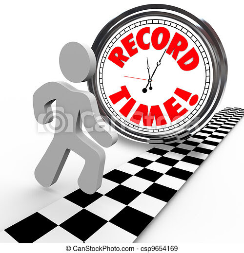 Daily Time Record Clipart